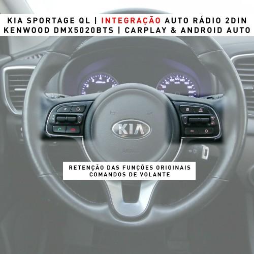 Kia Sportage Carplay Android Auto