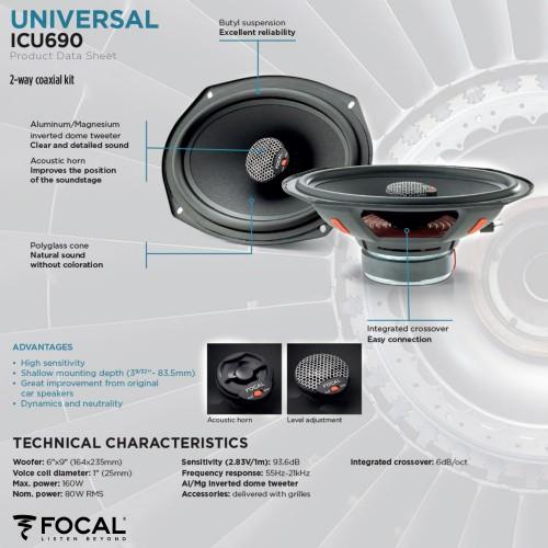 Focal Integration Volkswagen Carocha