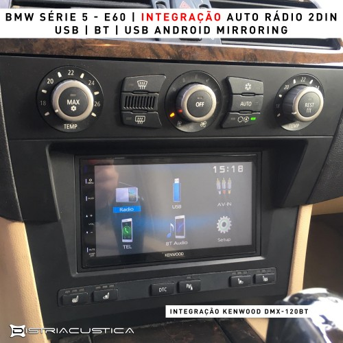 Auto rádio BMW Série 5 E60