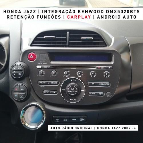 Carplay Android Auto Honda Jazz