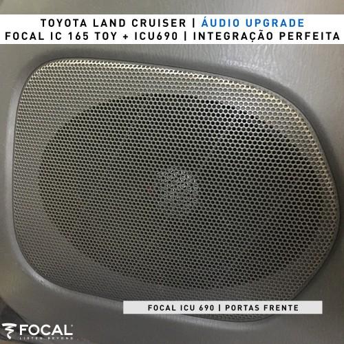 Colunas Focal Toyota Land Cruiser
