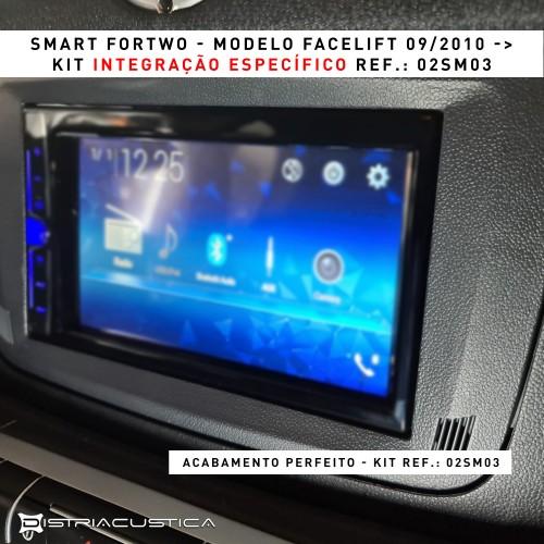 Auto rádio 2din Smart fortwo