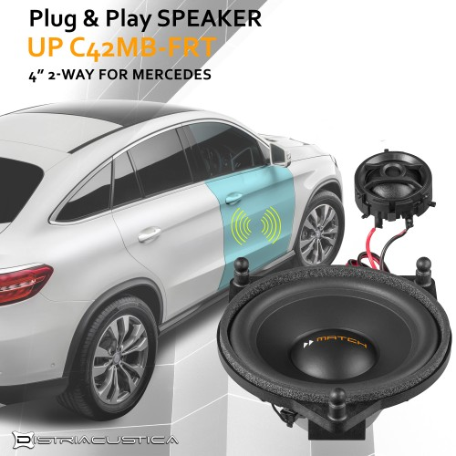Mercedes C w205 hifi audio upgrade