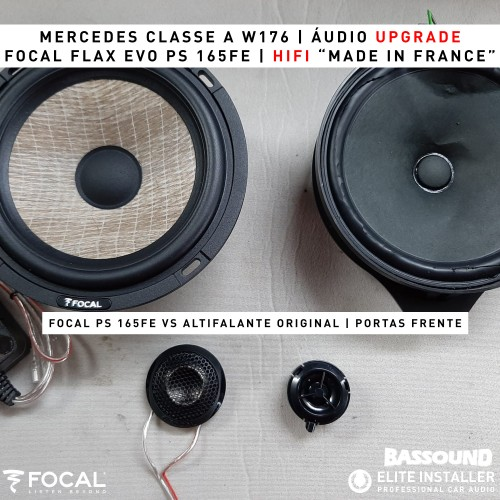 Mercedes Classe A W176 Focal audio upgrade