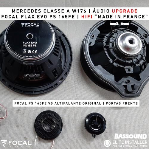 Mercedes Classe A W176 Focal audio upgrade
