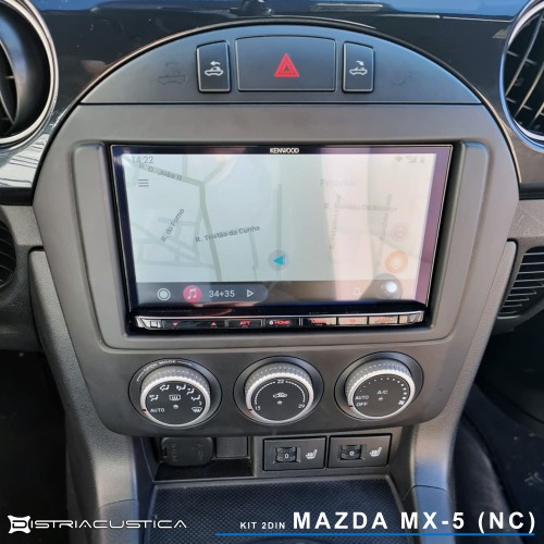 Mazda Mx-5 NC Carplay Android Auto rádio Kenwood