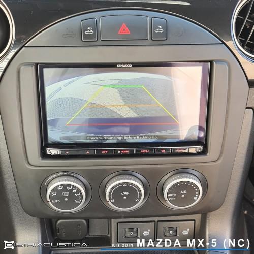 Mazda Mx-5 NC Carplay Android Auto rádio Kenwood