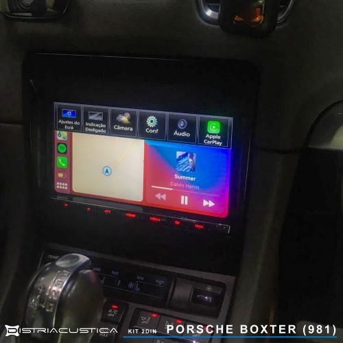 Auto rádio carplay android Auto Porsche Boxter 981