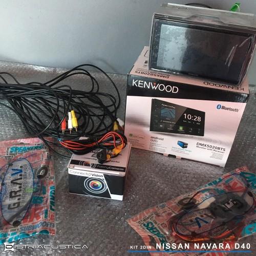 Auto rádio Apple Carplay Android Auto Nissan Navara D40