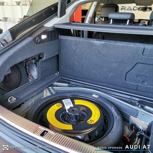 Audi A7 Hifi audio upgrade Ignition Vortex
