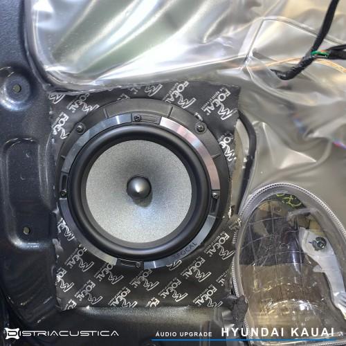 Hyundai Kauai colunas Focal amplificador dsp Match