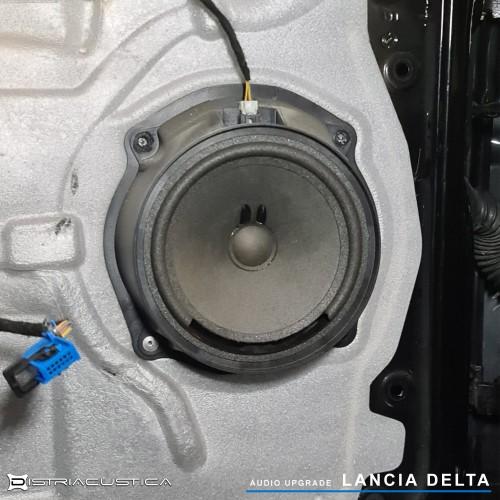 Isolamento acústico e colunas Helix Lancia Delta