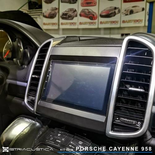 Porsche Cayenne 958 substituição auto-rádio PCM