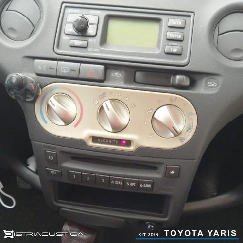 Auto rádio 2din Toyota Yaris