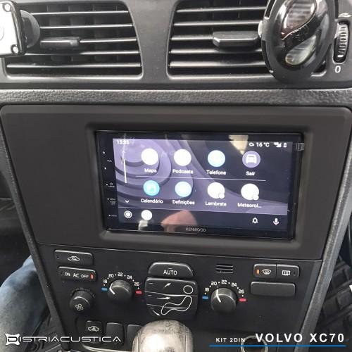 Carplay e Android auto Kenwood Volvo XC70