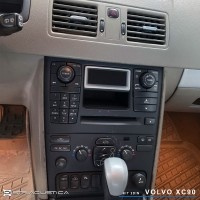 Volvo XC90 auto rádio carplay e android auto Kenwood