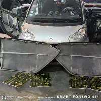 Isolamento acústico e Focal Auditor Smart Fortwo