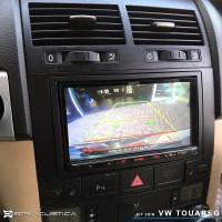 Vw Touareg auto-rádio 2din carplay android auto