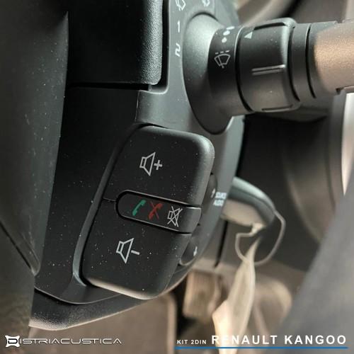 Renault Kangoo 2din Kenwood Carplay e Android auto