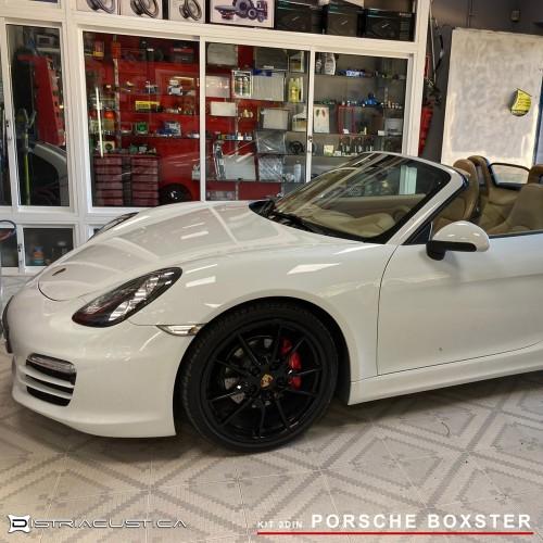 Porsche Boxter auto rádio 2din