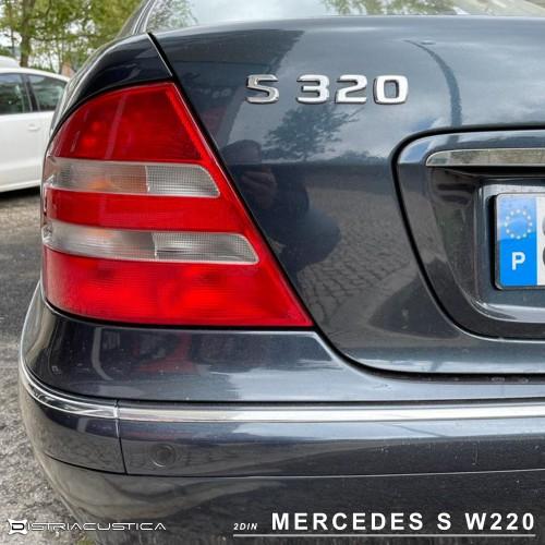 Mercedes Classe S W220 auto rádio 2din