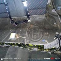 Isolamento acústico BMW M3 E36