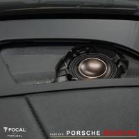 Porsche Boxster Focal Flax Evo Match DSP