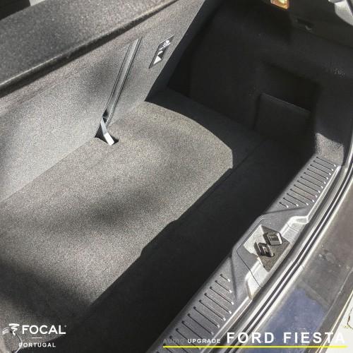 Ford Fiesta Focal Helix audio upgrade