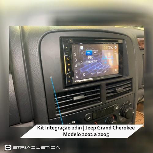 Jeep Grand Cherokee integração 2din
