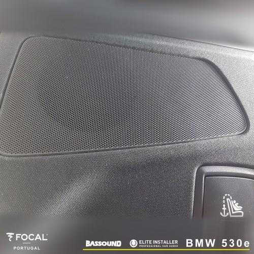 Focal BMW 530e sistema de som