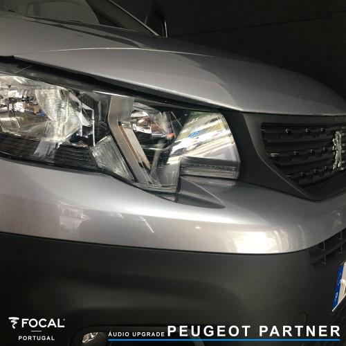Focal Peugeot Partner sistema de som