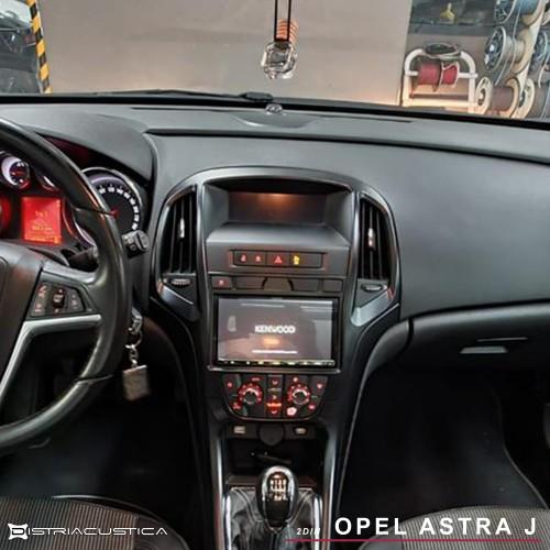 Opel Astra J Carplay Android auto 2din kenwood