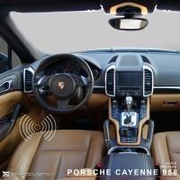 Porsche Cayenne 958 aro adaptador altifalante