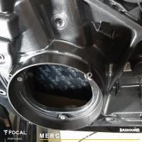 Mercedes Classe A W177 áudio upgrade Focal Helix Bassound