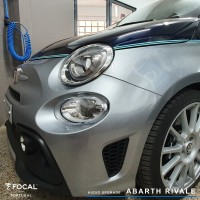 Abarth Rival audio upgrade Focal Helix CTK
