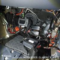 Mercedes Classe E w213 Focal Match audio upgrade