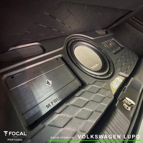 VW Lupo audio upgrade Focal Helix