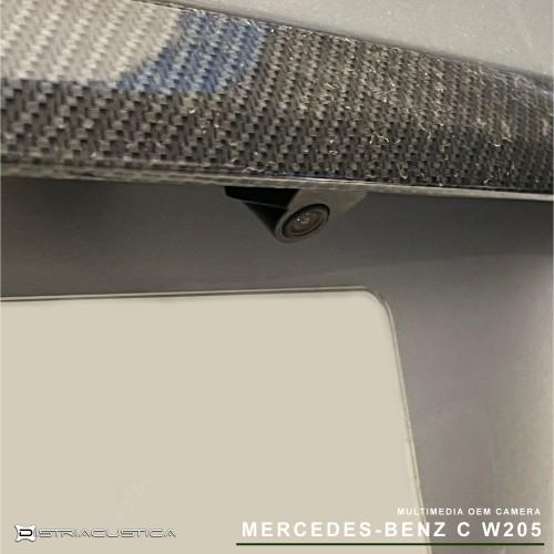 Mercedes C W205 câmera traseira e frontal