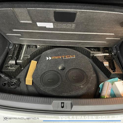 Golf 7 R insonorização e sistema de som