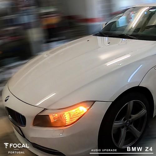 Colunas Focal BMW Z4