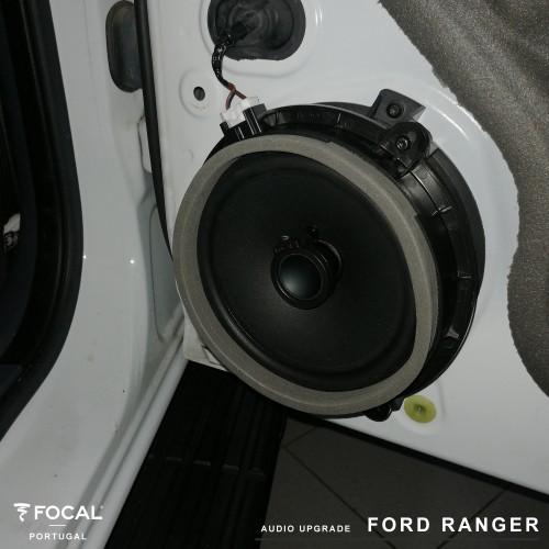 Sistema de som Focal 2din Kenwood Ford Ranger