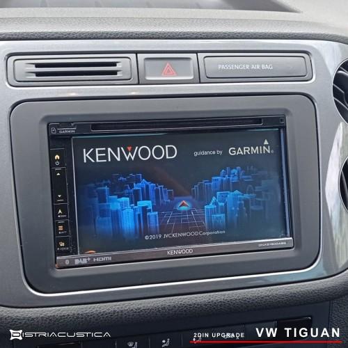 auto rádio kenwood carplay android auto Vw Tiguan