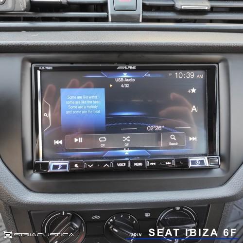 Seat Ibiza 6F 2din Carplay Android Auto Alpine