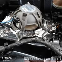 Classe E w213 Focal áudio