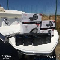 Sistema de som náutico em Cobalt