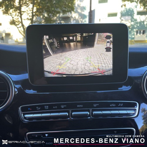 Câmera traseira Mercedes-Benz Viano