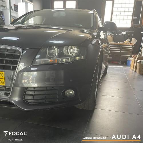 Upgrade áudio Audi A4