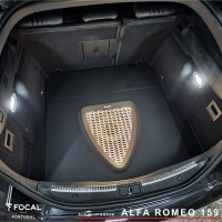 Upgrade áudio Alfa 159 Focal Flax