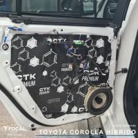 Toyota Corolla Híbrido sistema de som por Rosendo High-End