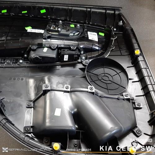 Upgrade áudio Kia Ceed por Bassound Algarve